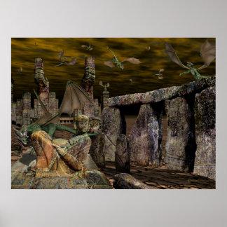 Tierra de los Ancients Póster
