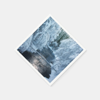 Tierra de los duendes servilletas de papel