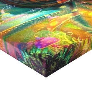 Tierra de maravillas divinas - impresión estirada  impresión en lona estirada