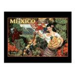tierra de México del esplendor tropical Postal