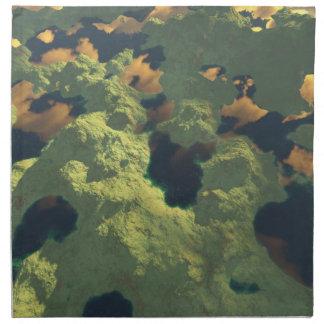 Tierra de mil lagos servilleta imprimida