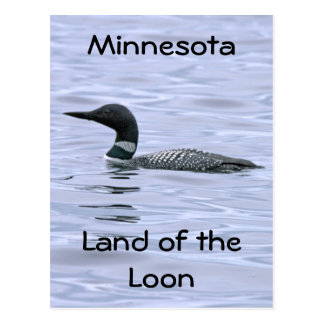 Tierra de Minnesota del bribón Postal