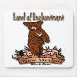 Tierra de New México del oso del encantamiento Tapetes De Ratones