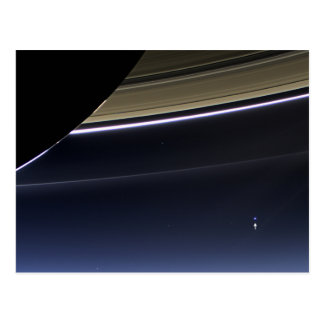 Tierra de Saturn Tarjetas Postales