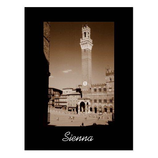 Tierra de Siena Tarjetas Postales