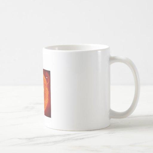 Tierra de Sun usted está aquí (el humor de la astr Taza De Café