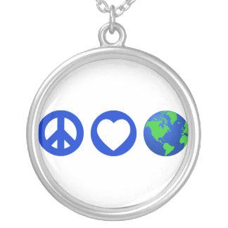 Tierra del amor de la paz grimpola