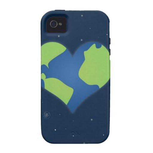 Tierra del amor iPhone 4/4S carcasas