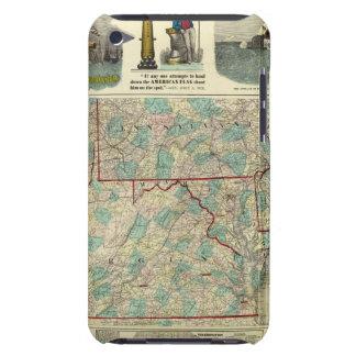 Tierra del campo de nuestra nación Case-Mate iPod touch cárcasas