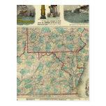 Tierra del campo de nuestra nación tarjetas postales