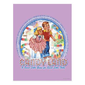 Tierra del caramelo - un pequeño juego dulce postales