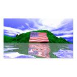 Tierra del Día de la Independencia - tamaño del ne Tarjetas De Visita