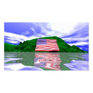 Tierra del Día de la Independencia - tamaño del Tarjetas De Visita