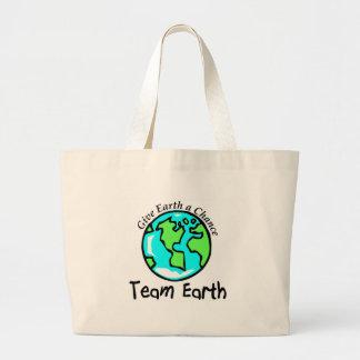 Tierra del equipo bolsas