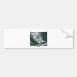 Tierra Del Fuego Chile/Argentina (Picture Earth) Car Bumper Sticker