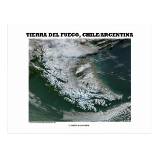 Tierra Del Fuego Chile/Argentina (Picture Earth) Post Card