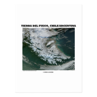 Tierra Del Fuego Chile/Argentina (Picture Earth) Post Cards