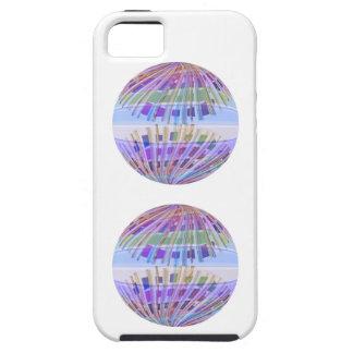 Tierra del GLOBO:  Demostración ligera púrpura iPhone 5 Fundas