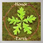 Tierra del honor poster