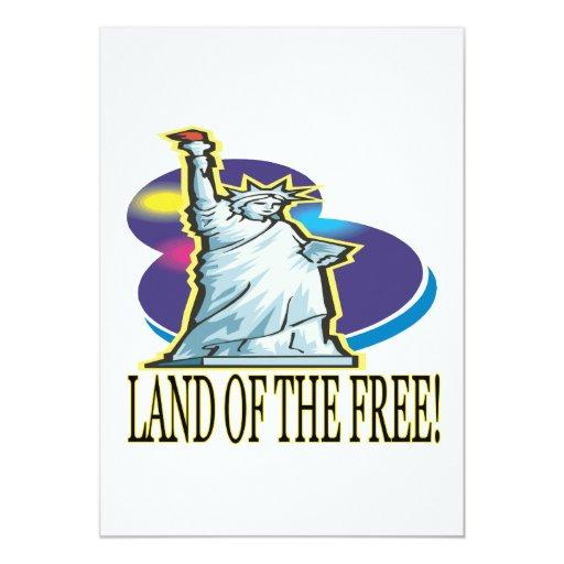 Tierra del libre comunicados personalizados