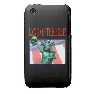 Tierra del libre Case-Mate iPhone 3 fundas