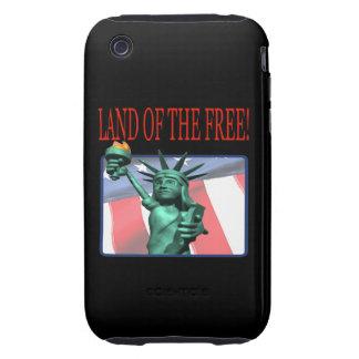 Tierra del libre iPhone 3 tough fundas