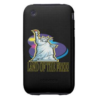 Tierra del libre tough iPhone 3 funda