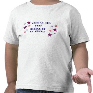 Tierra del libre - mamá camisetas