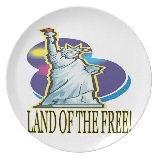 Tierra del libre platos de comidas