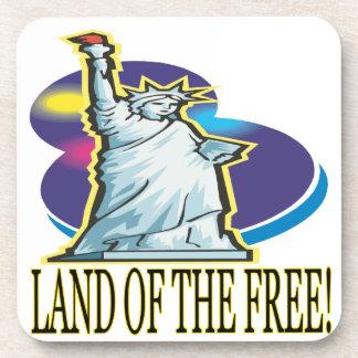 Tierra del libre posavasos