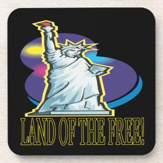 Tierra del libre posavaso