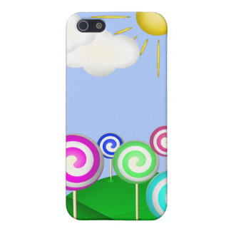 Tierra del Lollipop iPhone 5 Carcasa