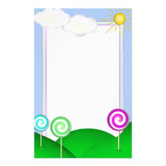 Tierra del Lollipop Personalized Stationery