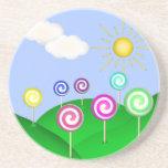 Tierra del Lollipop Posavasos Manualidades