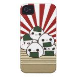 Tierra del Onigiri de levantamiento Case-Mate iPhone 4 Carcasa