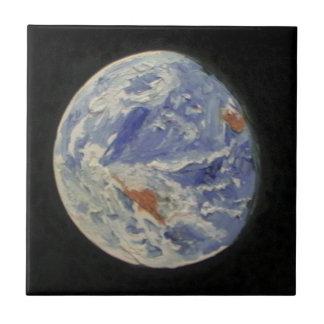 Tierra del planeta tejas  cerámicas