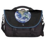 Tierra del planeta bolsas de portatil