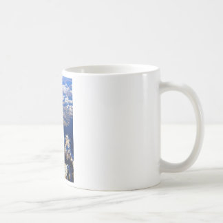 Tierra del PLANETA de las montañas rocosas de Colo Taza De Café