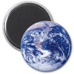 Tierra del planeta imán para frigorífico