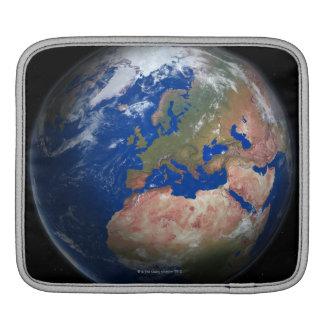 Tierra del planeta mangas de iPad