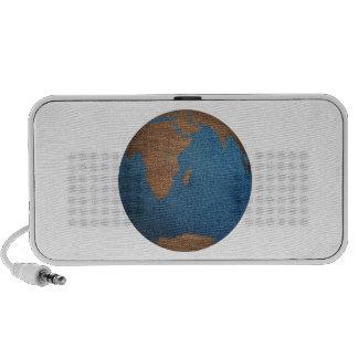 Tierra del planeta mp3 altavoz