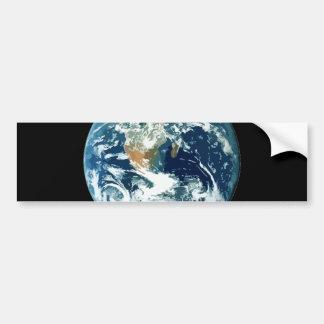 Tierra del planeta pegatina para auto
