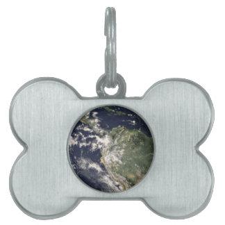 Tierra del planeta placas mascota