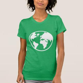 Tierra del planeta tee shirt
