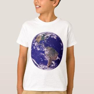 Tierra del planeta polera