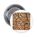 tierra del suelo seco/de la grieta pins