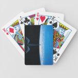 Tierra del transbordador espacial baraja cartas de poker