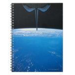 Tierra del transbordador espacial libro de apuntes