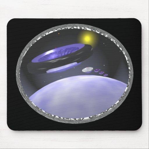 Tierra del UFO Tapete De Ratones
