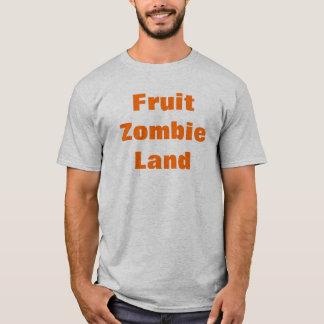 Tierra del zombi de la fruta playera